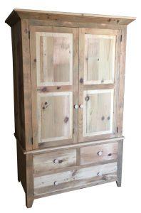 The Rustic Barnwood Wardrobe