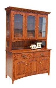 Amish Country Shaker Hutch