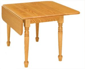 Amish Rectangular Drop Leaf Table