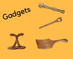 Fun Amish made kitchen gadgets.