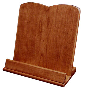 Amish Hardwood Plain Cookbook Holder