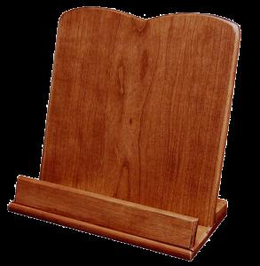 Amish Hardwood Plain Cookbook Holder