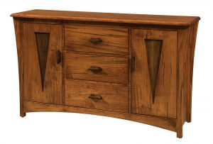 Amish Delphi Sideboard with Optional Wine Rack