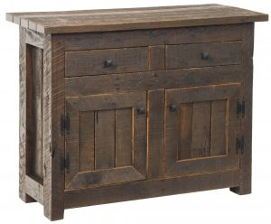 Amish Pallet Wood Foyer Cabinet