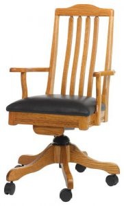 Amish Shaker Desk Chair