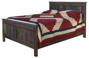 Pallet Wood Farmhouse Bed