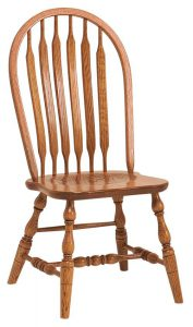 Amish Bent Paddle Windsor Dining Chair