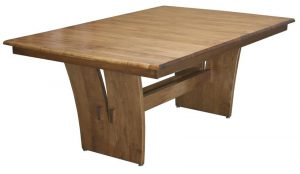 Amish Delphi Trestle Dining Room Table
