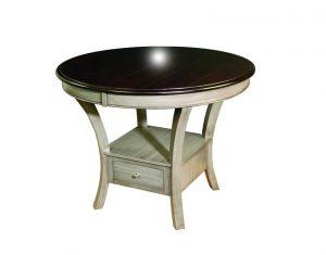 Amish Ensenada Single Pedestal Table