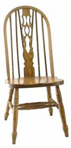 Amish Fiddle Back Windsor Dining Chair