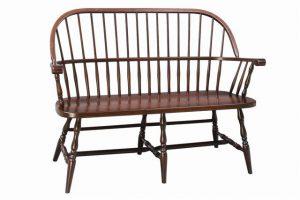 Amish Franklin Sack Back Windsor Bench