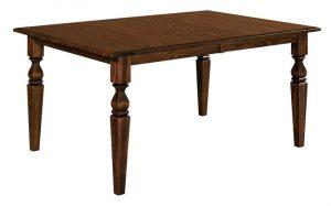 Amish Fremont Leg Dining Table