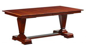 Amish Fulton Trestle Dining Table