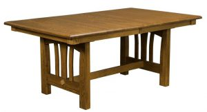 Amish Mondovi Trestle Table