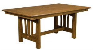 Amish Mondovi Trestle Table