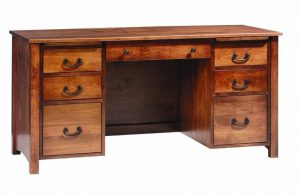 Amish Rivertowne Desk Deluxe
