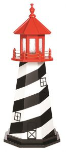 Amish St. Augustine FL Wooden Garden Lighthouse