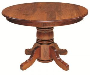 Yorktown Single Pedestal Dining Table by Keystone