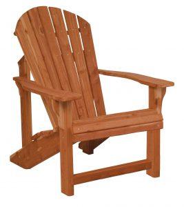 Amish Cedar Wood Traditional Adirondack Chair