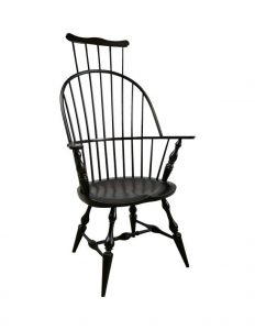 Amish Comb Back Windsor Arm Chair