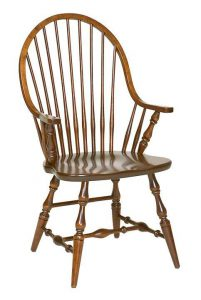 Amish New England Windsor Dining Room Chair