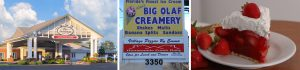 Der Dutchman, Big Olaf and Yoder's pie, all popular places in the Pinecraft community in Sarasota, Florida