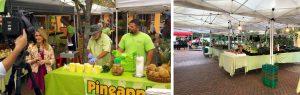 KInsey's Produce is a popular spot at Sarasota's Farmer's Market.