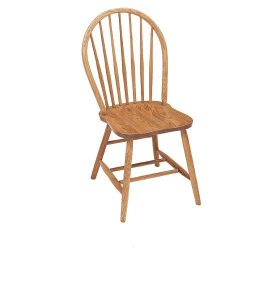 Millstream Seven Spindle Dining Chair by Keystone