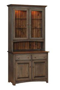 Amish Capri Shaker Hutch