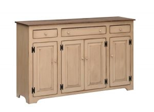 Amish Large Pine Country Buffet