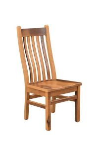 Amish Reclaimed Wood Mission Chair