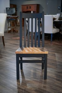 Amish Reclaimed Mission Chair