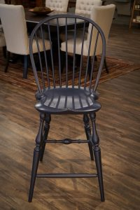 Amish Reproduction Windsor Bar Stool