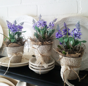 French Country pot decor from Follow the Yellow Brick Home