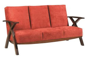 Amish Bristol Cross Sofa