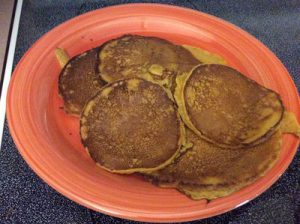 Amish Homemade Pumpkin Pancakes