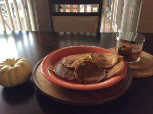 Amish Homemade Pumpkin Pancakes