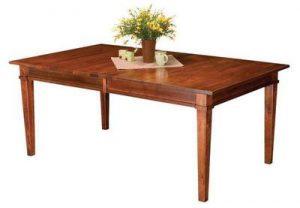 Amish Ethan Leg Table