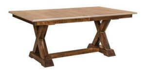 The Amish Knoxville Trestle Table