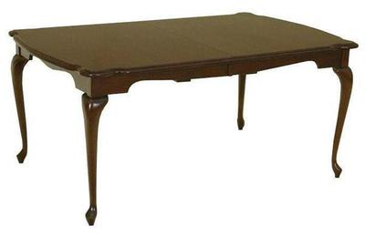 Amish Queen Anne Dining Table