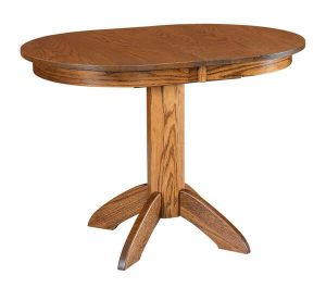 Amish Vancouver Single Pedestal Dining Table