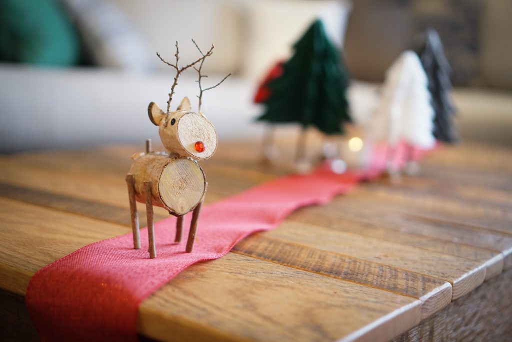 Birch Wood Reindeer