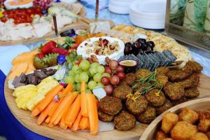 Grazing table platter by Lush Platters.