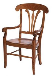 Amish French Country Provence Dining Chair