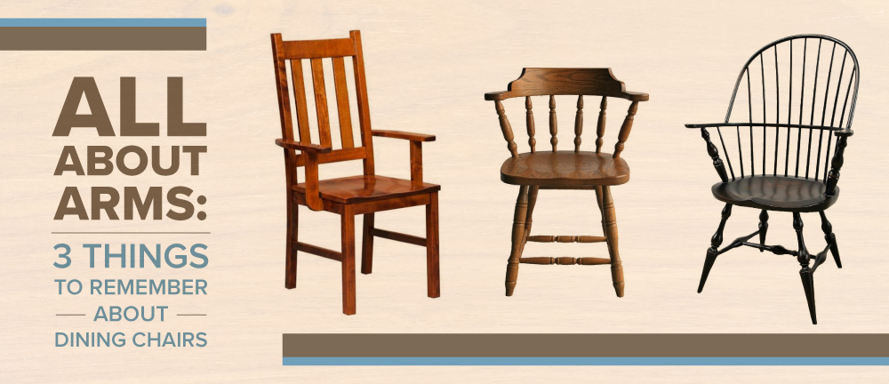 Dining Chairs, Dining Room Chairs With Arms
