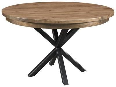 Amish Brooklyn Single Pedestal Dining Table