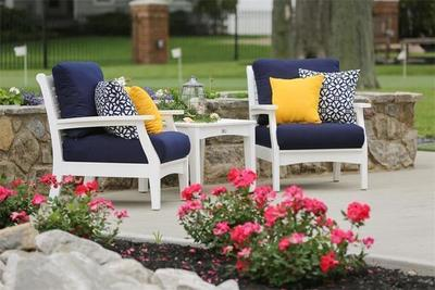 Berlin Gardent Classic Poly Terrace Club Chair Set