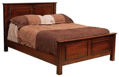 Amish Millerton Panel Bed