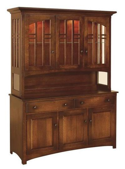 Amish Cascade Hutch