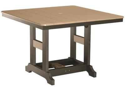 "Berlin Gardens 44"" Square Poly Counter Table"